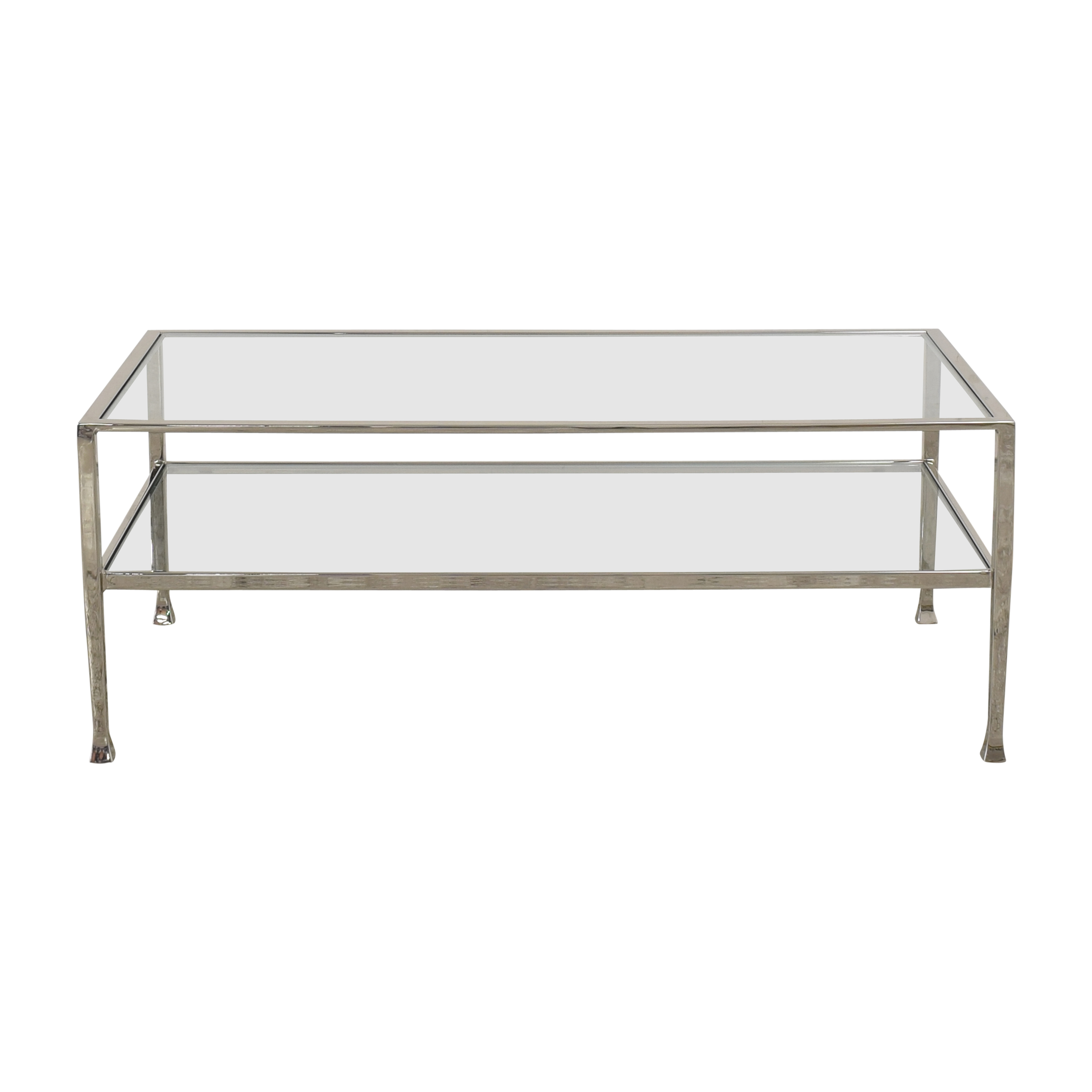 Pottery Barn Pottery Barn Tanner Rectangular Coffee Table for sale