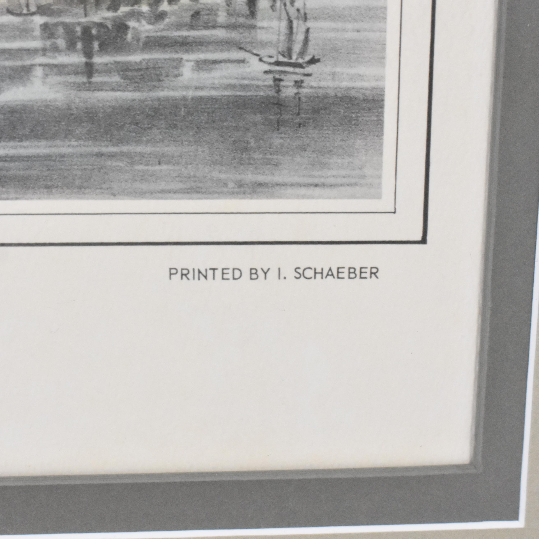 Brooklyn Bridge Framed Wall Art on sale