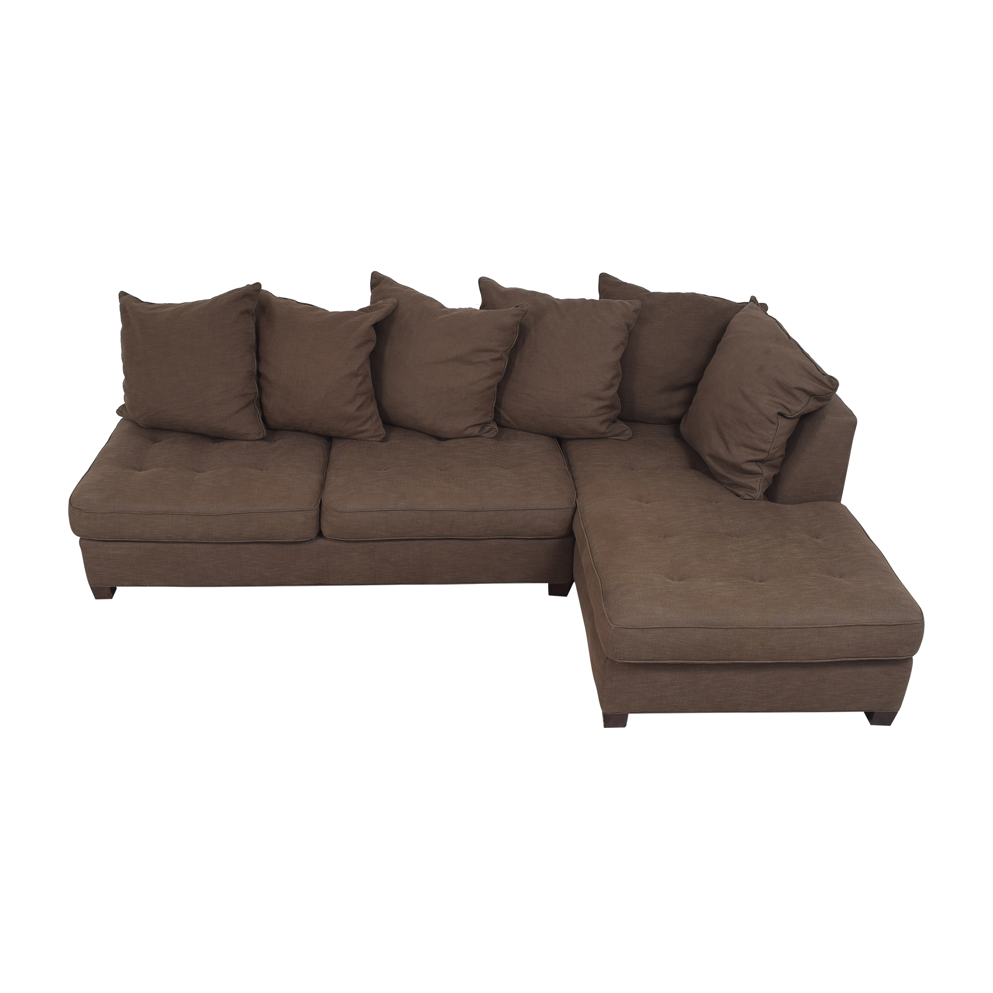 Pottery Barn Pottery Barn Sectional Sofa with Chaise second hand