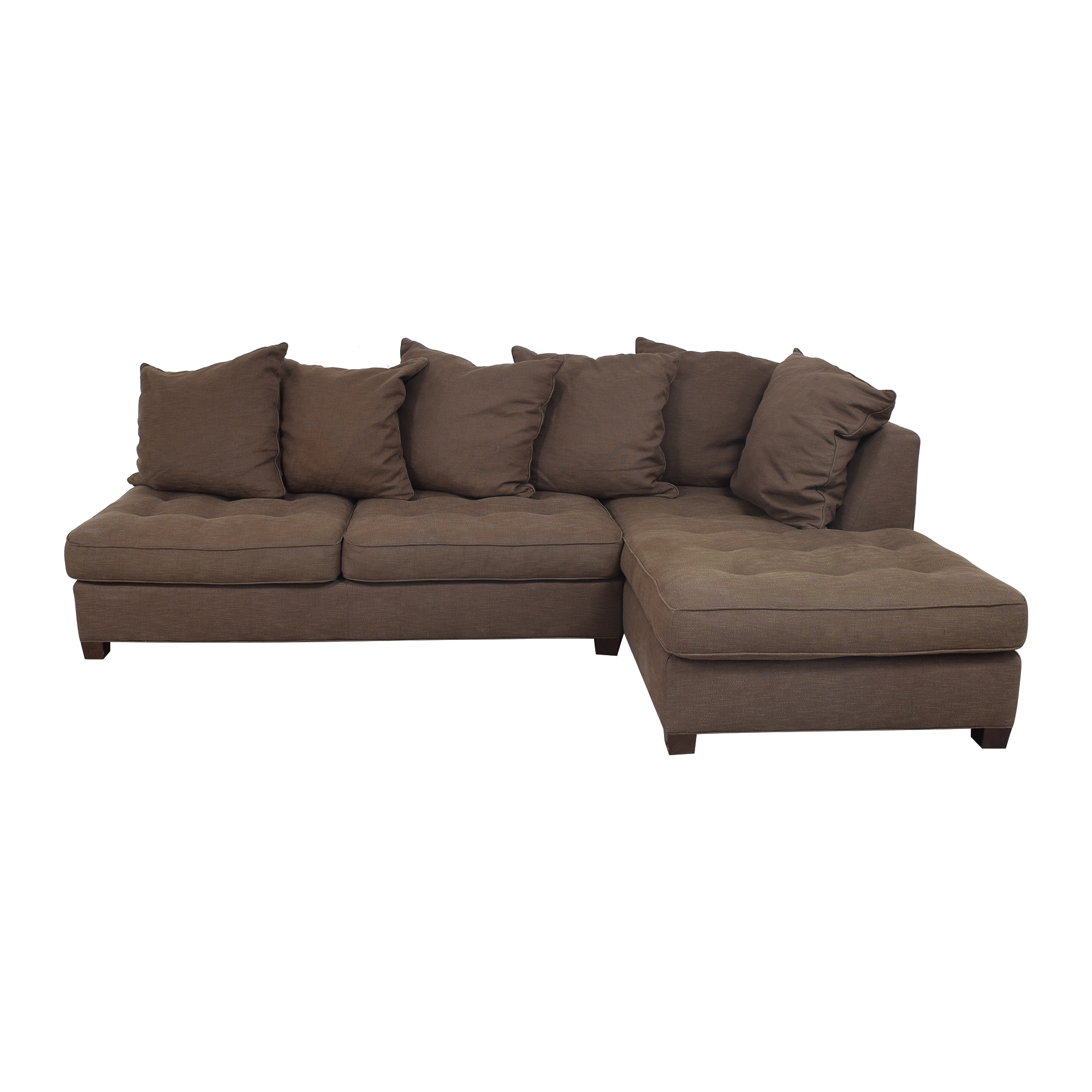 Pottery Barn Pottery Barn Sectional Sofa with Chaise ma