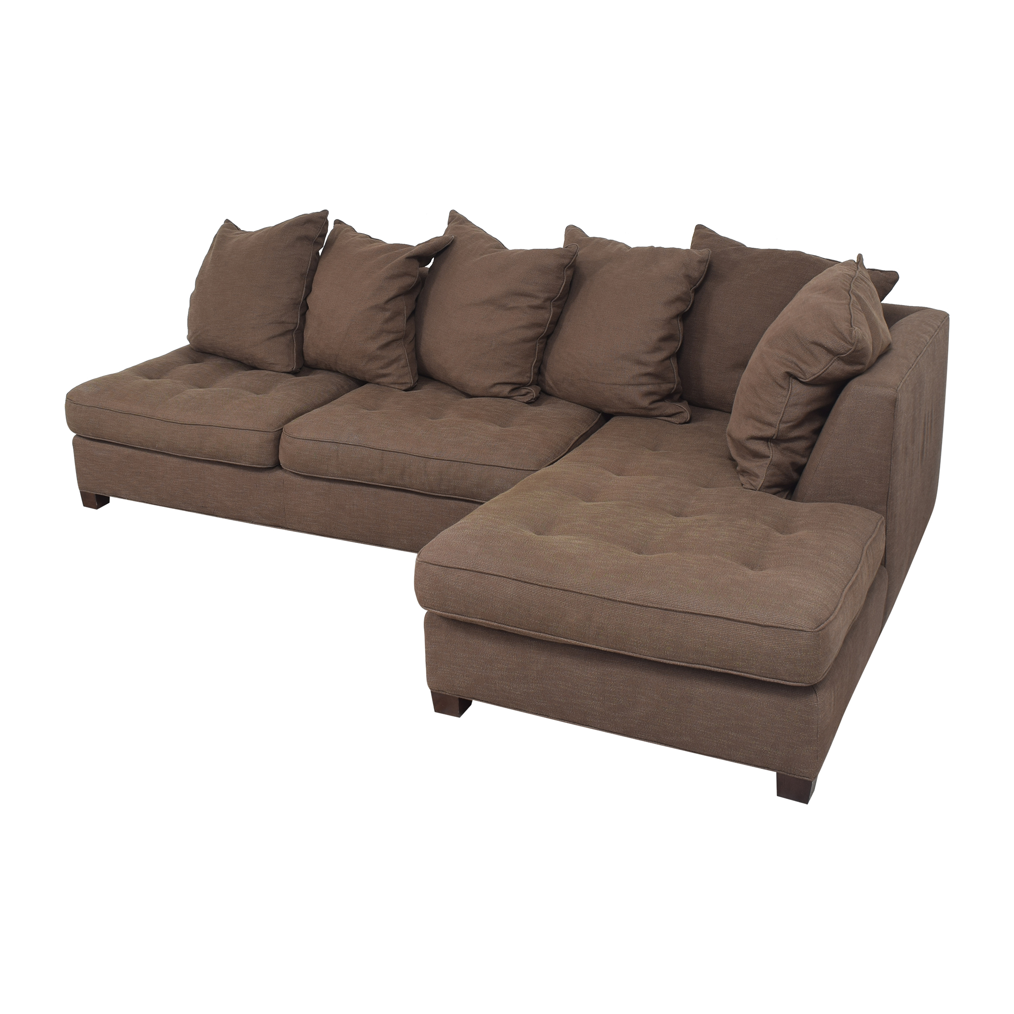 Pottery Barn Sectional Sofa with Chaise / Sectionals