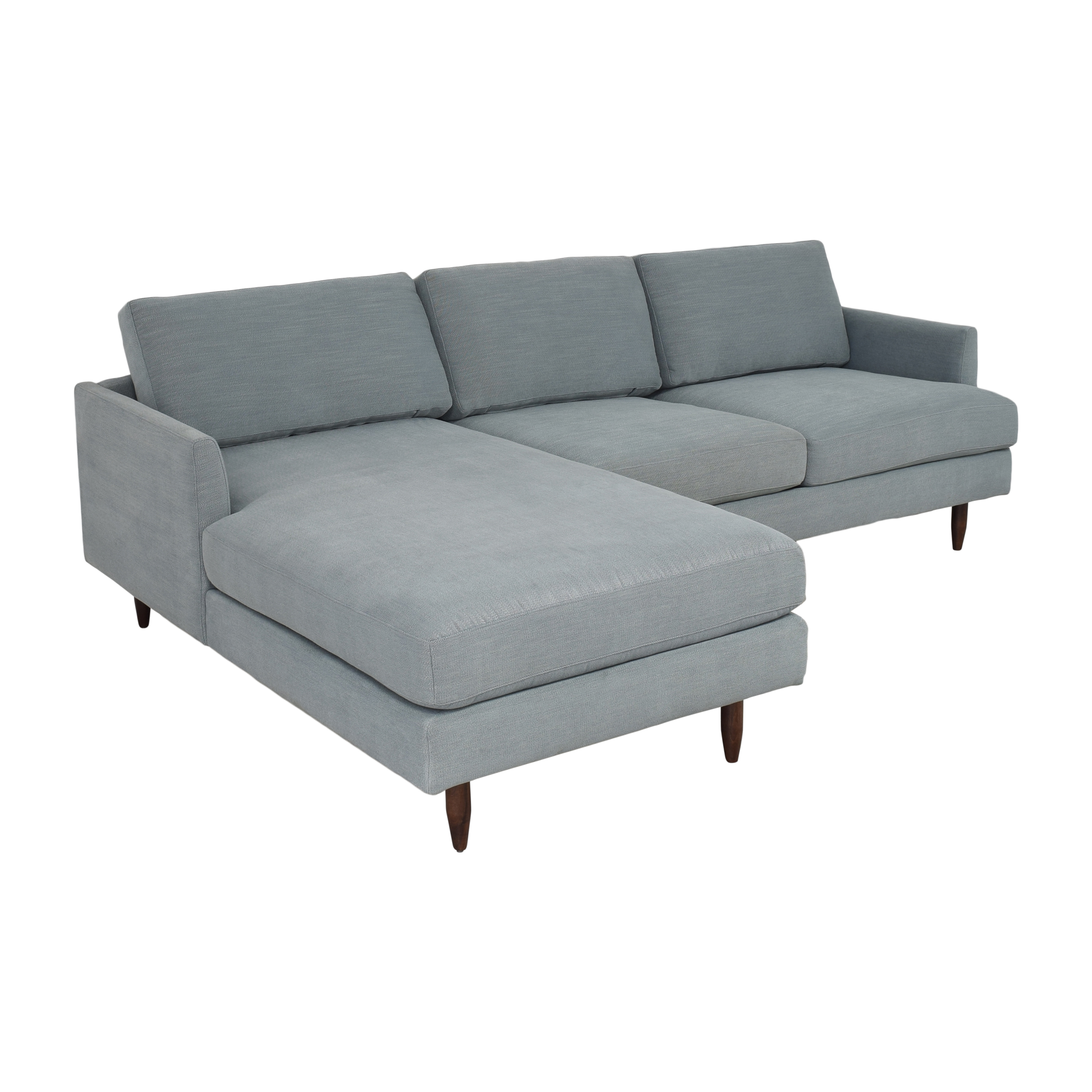 shop BenchMade Modern BenchMade Modern Crowd Pleaser Sectional Sofa with Chaise online