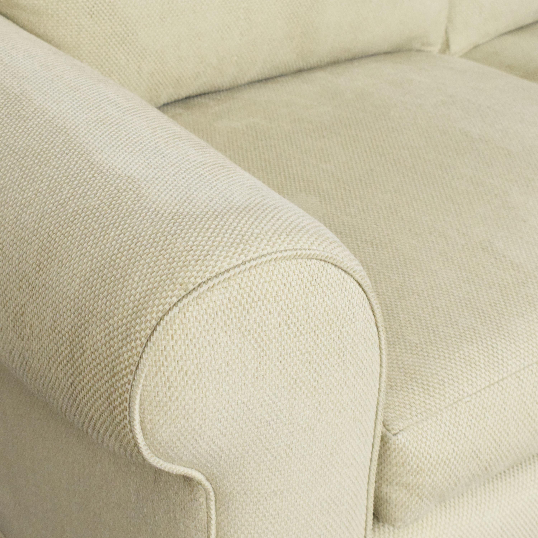 Custom Roll Arm Sofa second hand