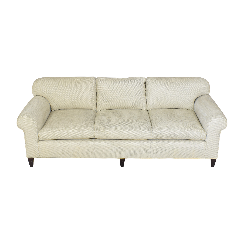 Custom Roll Arm Sofa ma