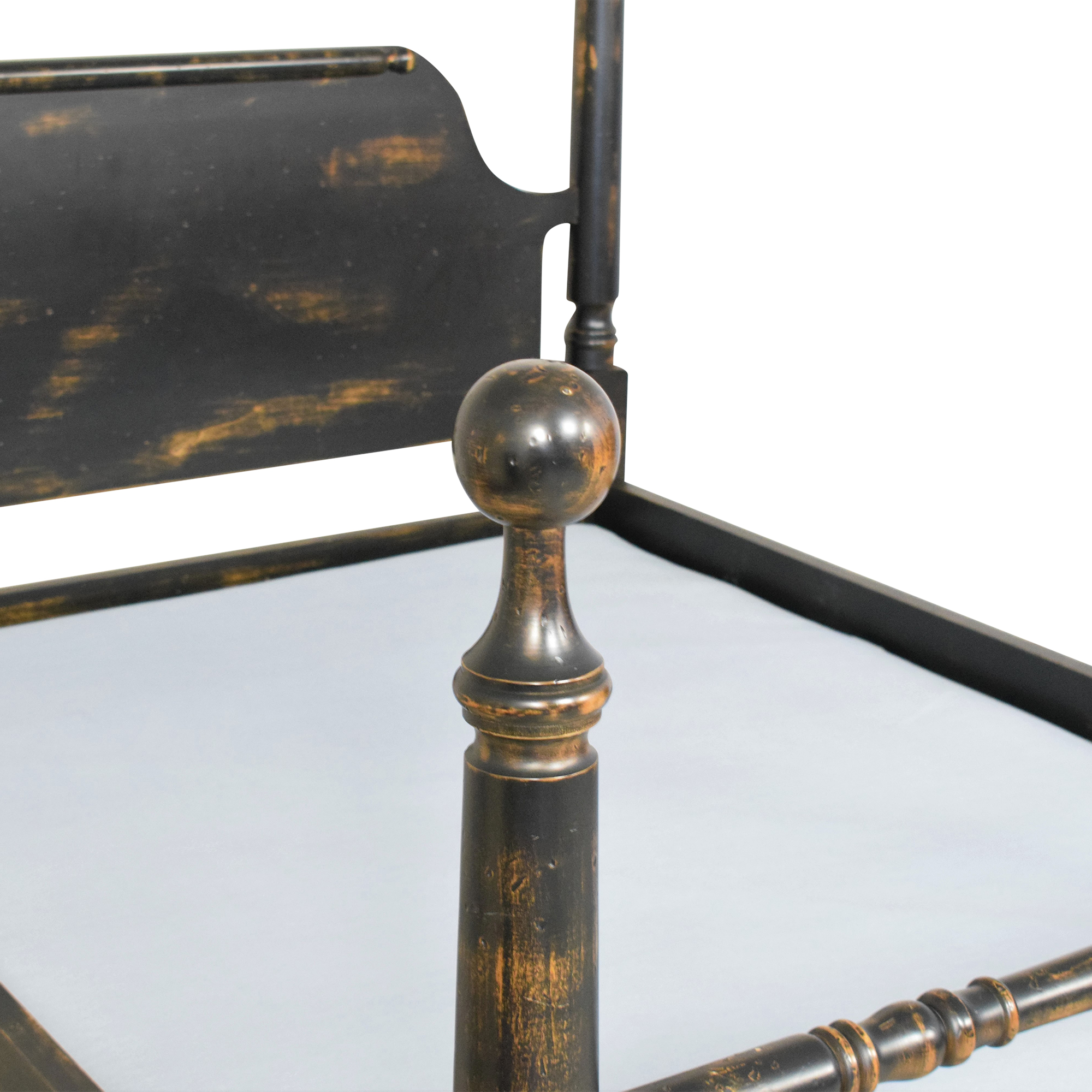 shop Rustic Four Poster Full Bed