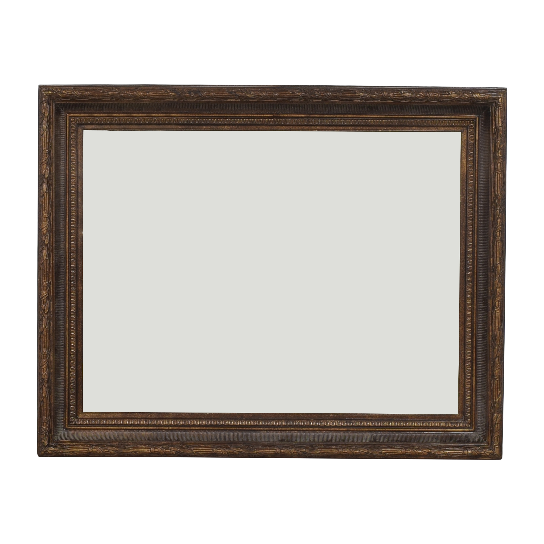 Framed Mirror used