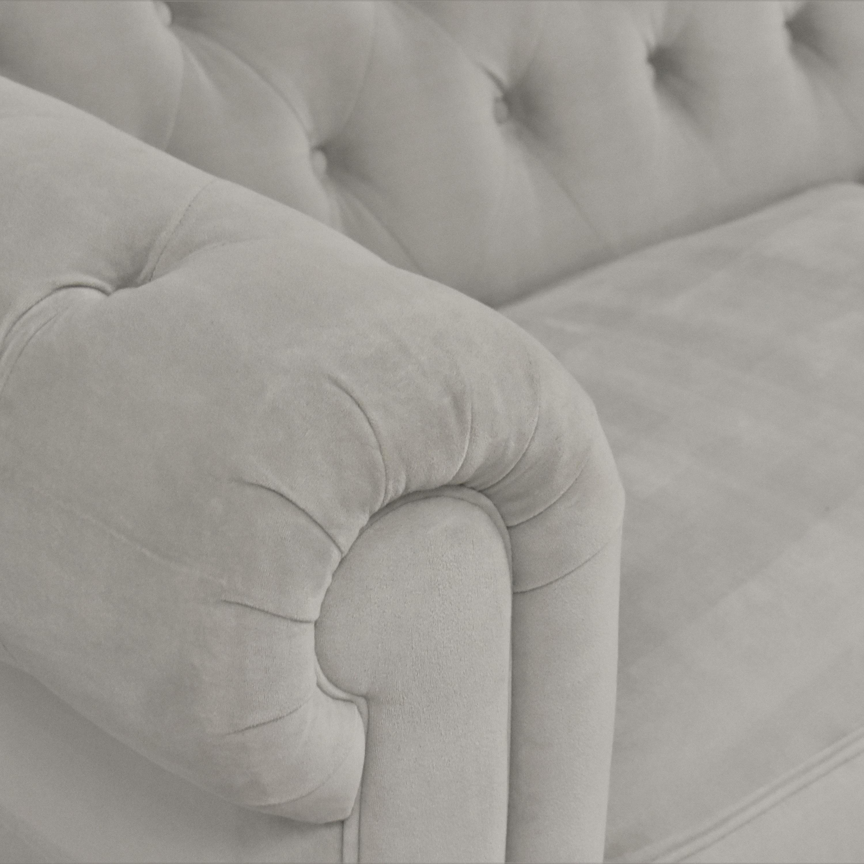 buy Macy's Martha Stewart Collection Saybridge Chesterfield Sofa Macy's