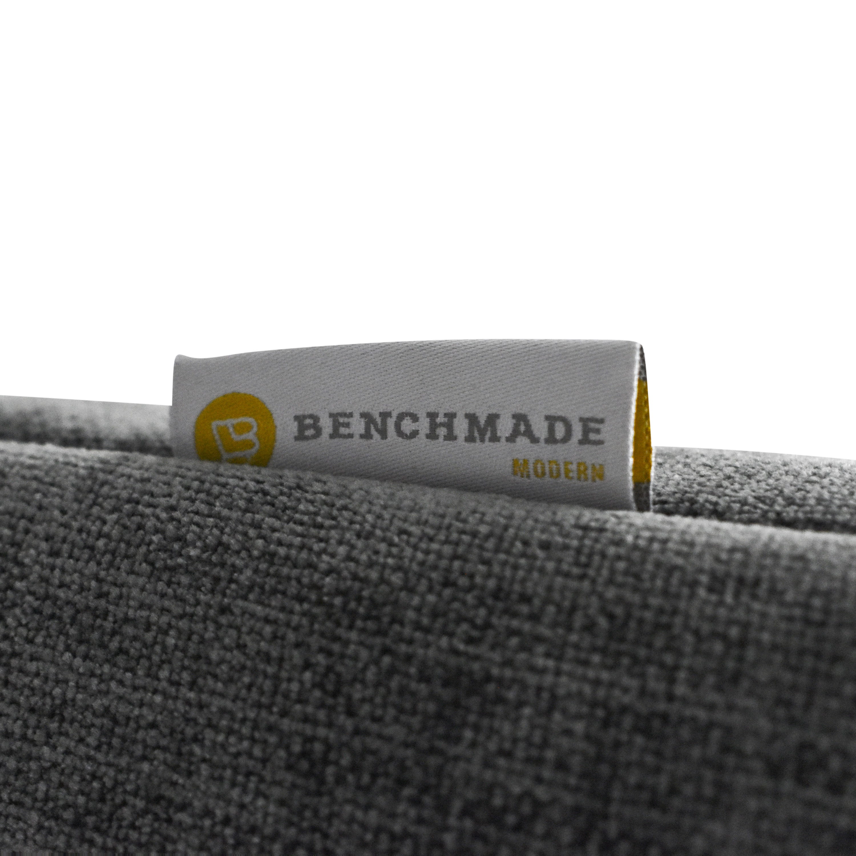BenchMade Modern BenchMade Modern Mid Century Modern Sectional Sofa with Chaise gray