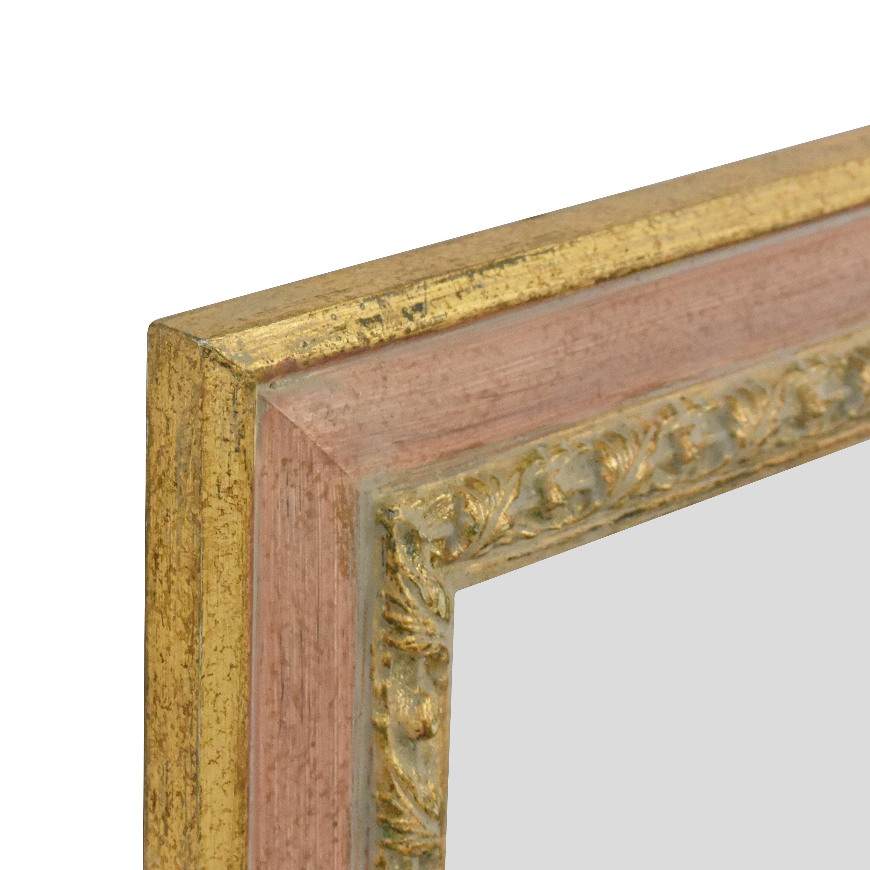Framed Wall Mirror pa