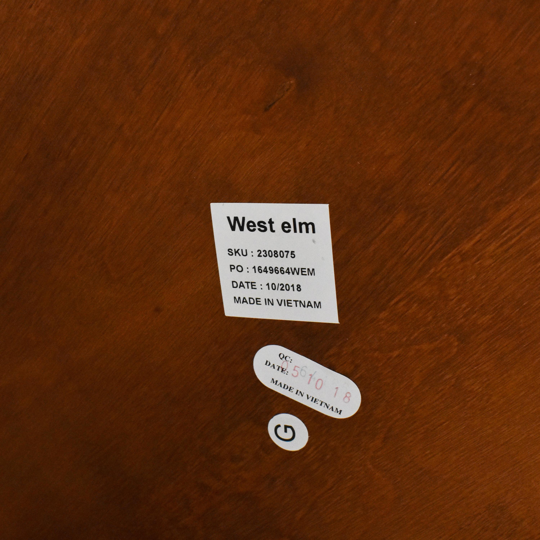 West Elm West Elm Retro Tripod Coffee Table dimensions