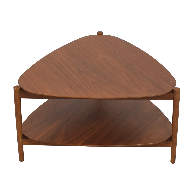 buy West Elm Retro Tripod Coffee Table West Elm Coffee Tables