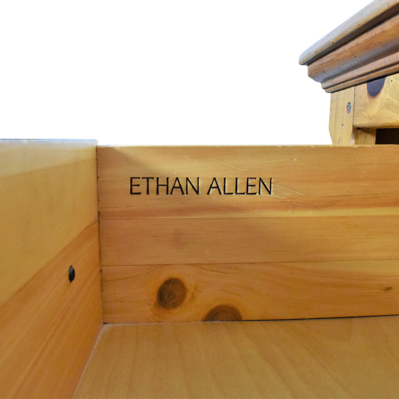 shop Ethan Allen Farmhouse Collection Triple Dresser Ethan Allen Storage