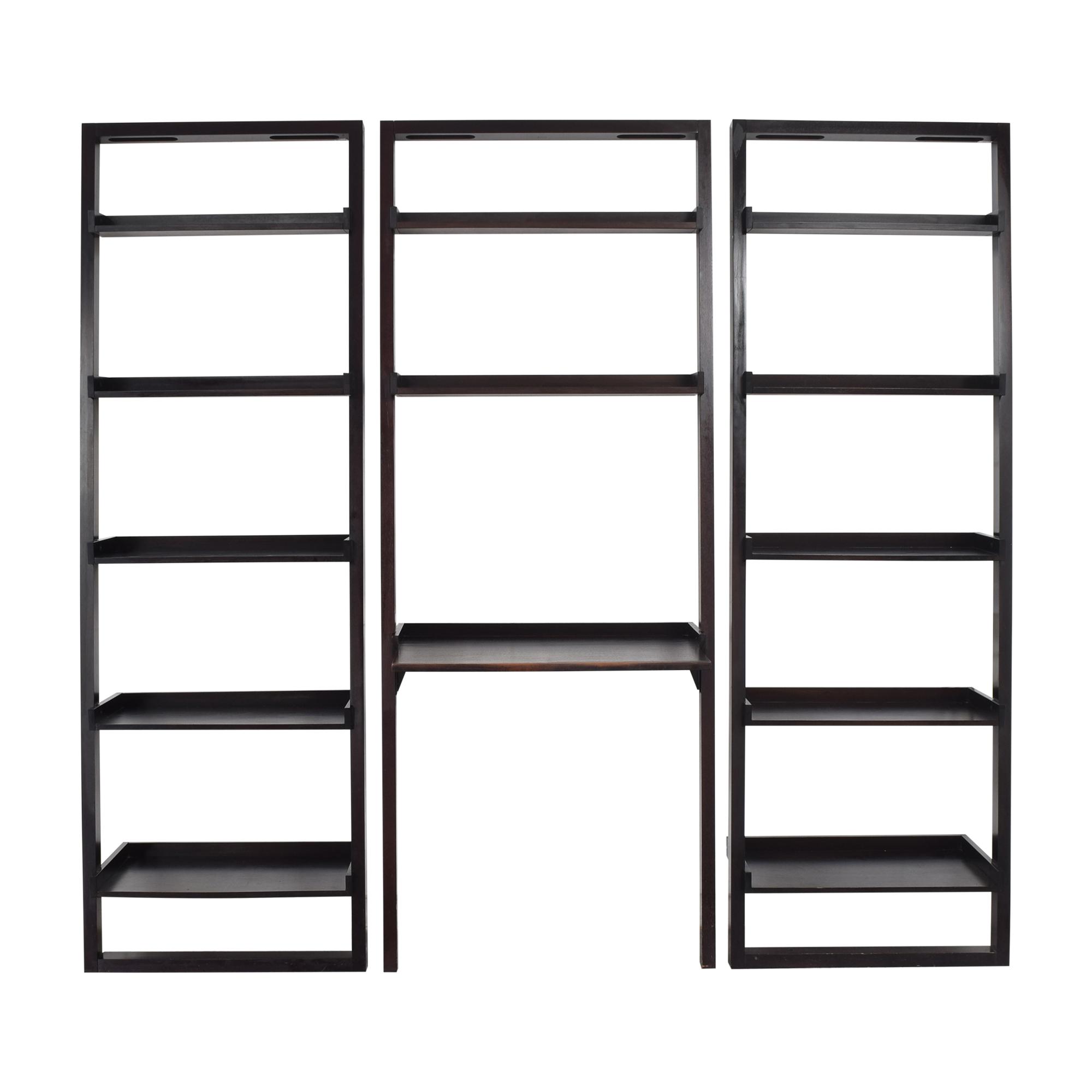 shop Pottery Barn Pottery Barn Ladder Shelf Set with Desk online