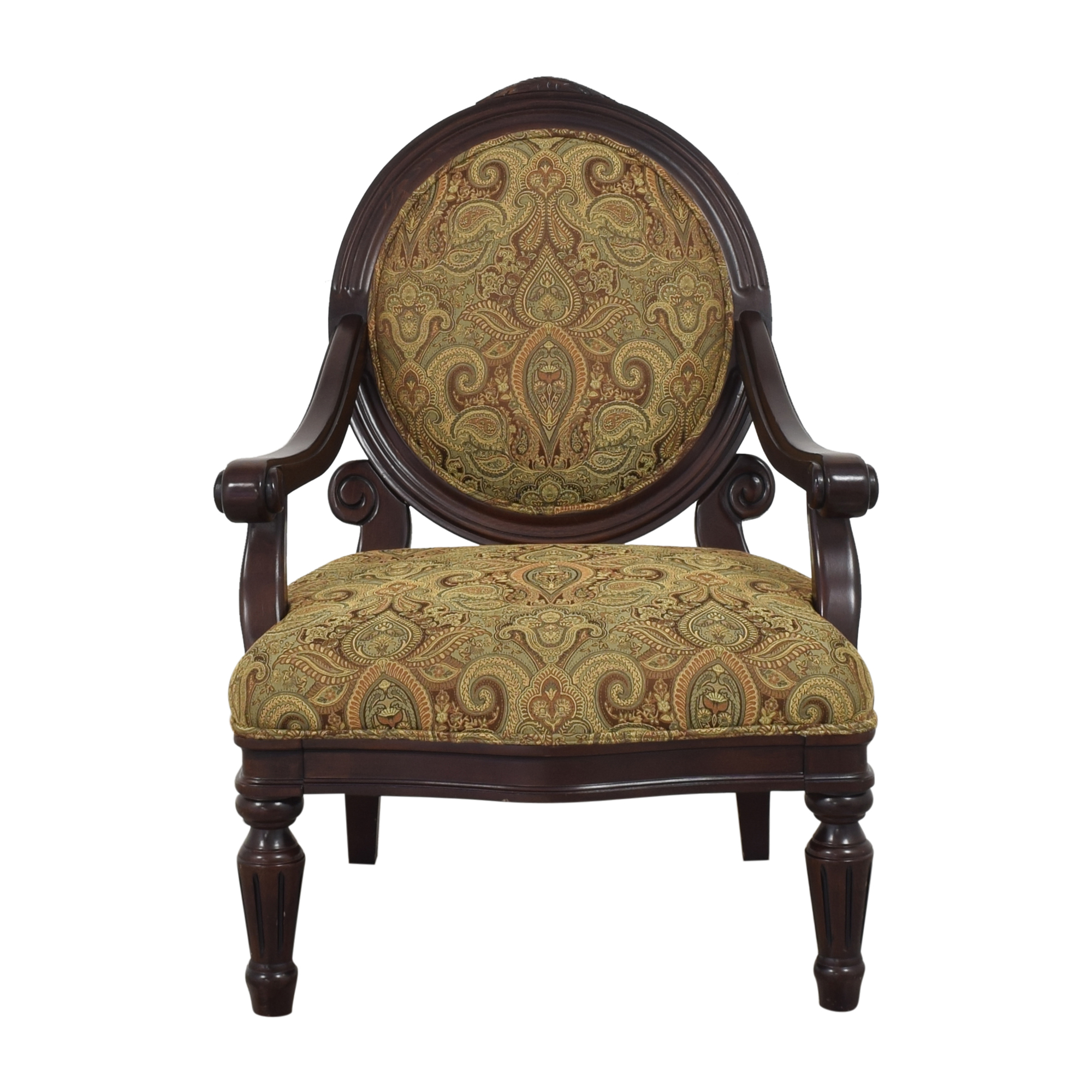 shop Raymour & Flanigan Accent Chair Raymour & Flanigan