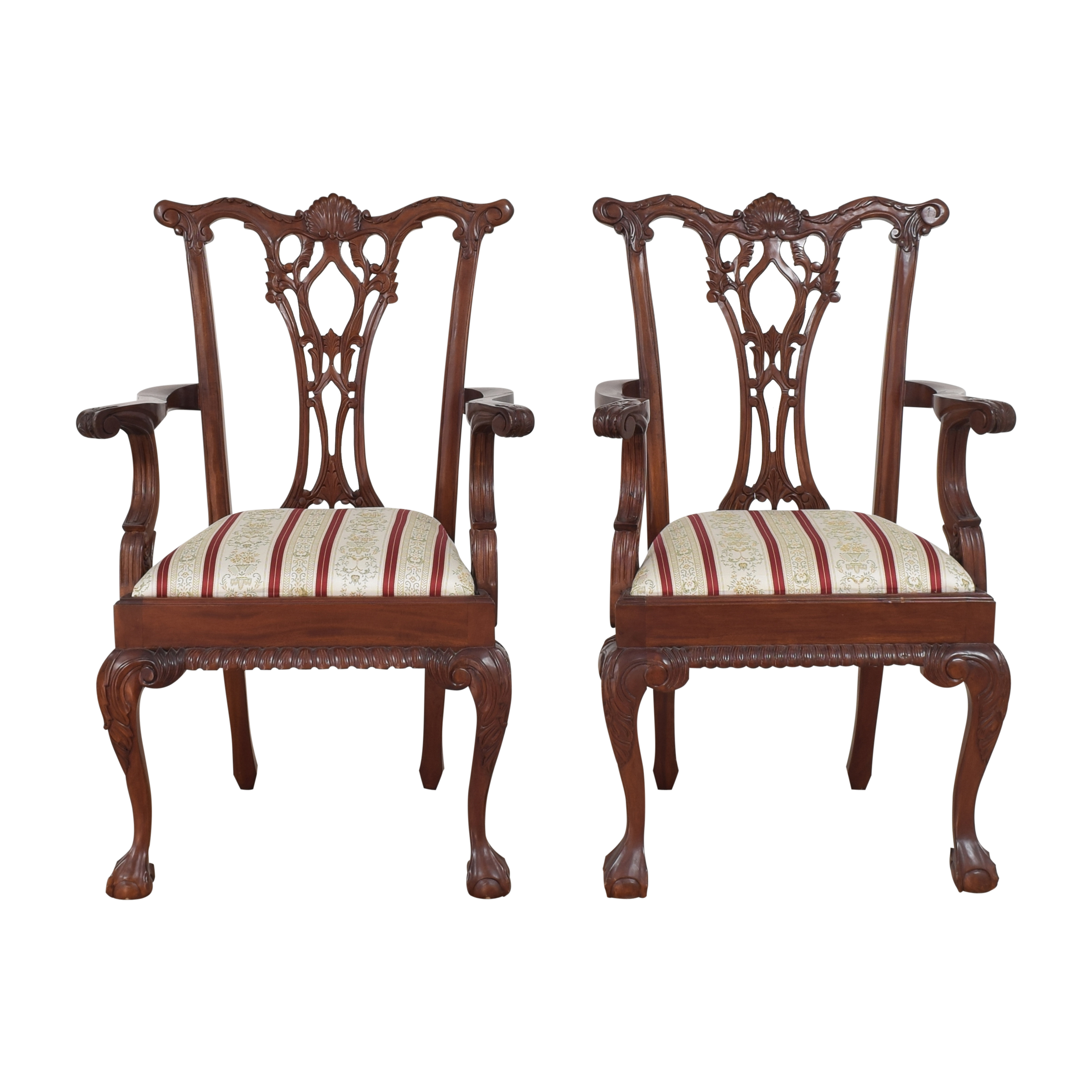 shop Clawfoot Dining Arm Chairs  Chairs