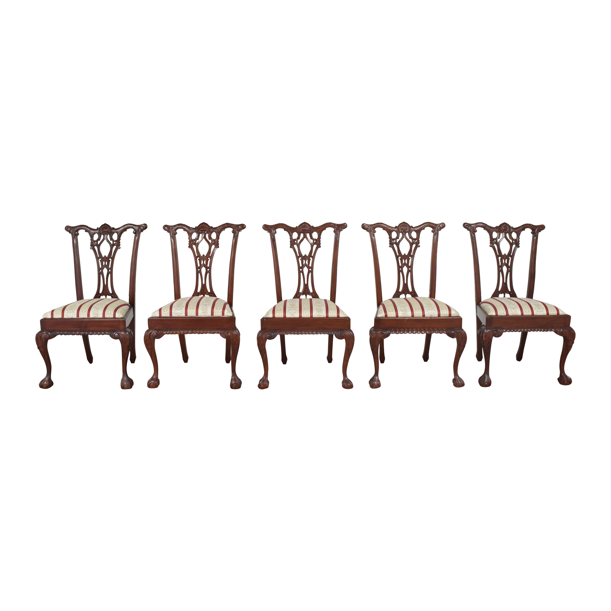 buy Clawfoot Dining Side Chairs  Dining Chairs