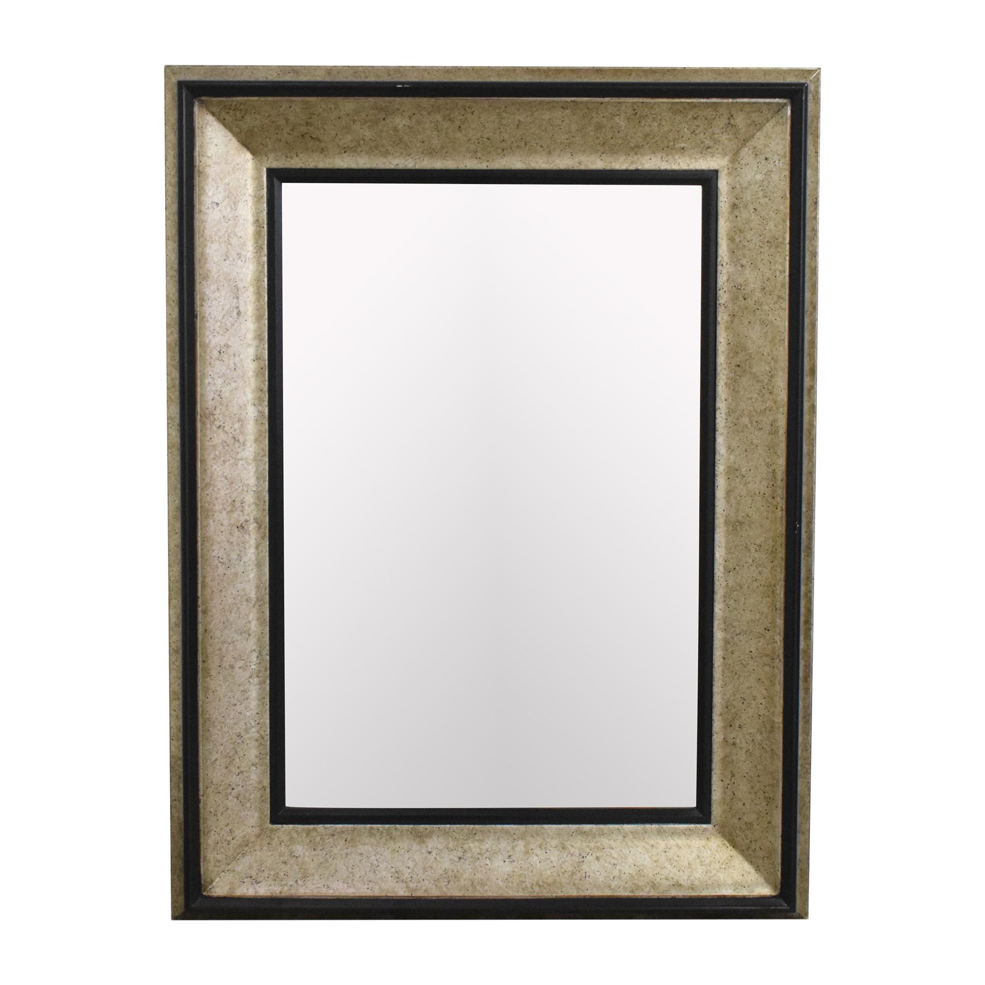 Bombay Company Bombay Company Framed Wall Mirror silver