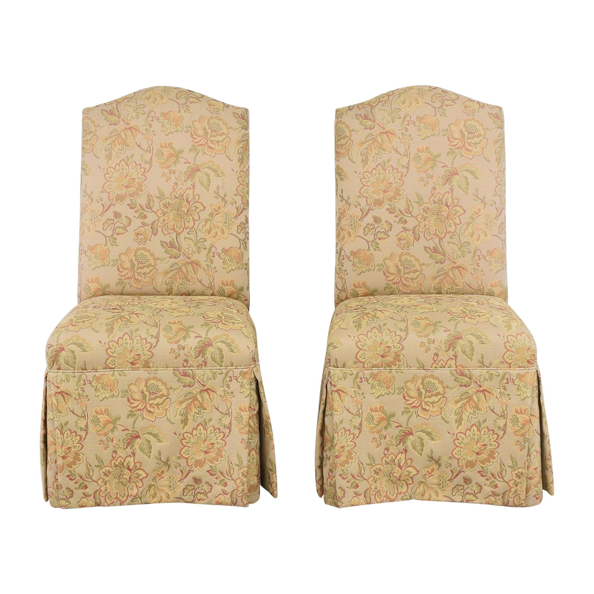 Grange Grange Skirted Dining Side Chairs used