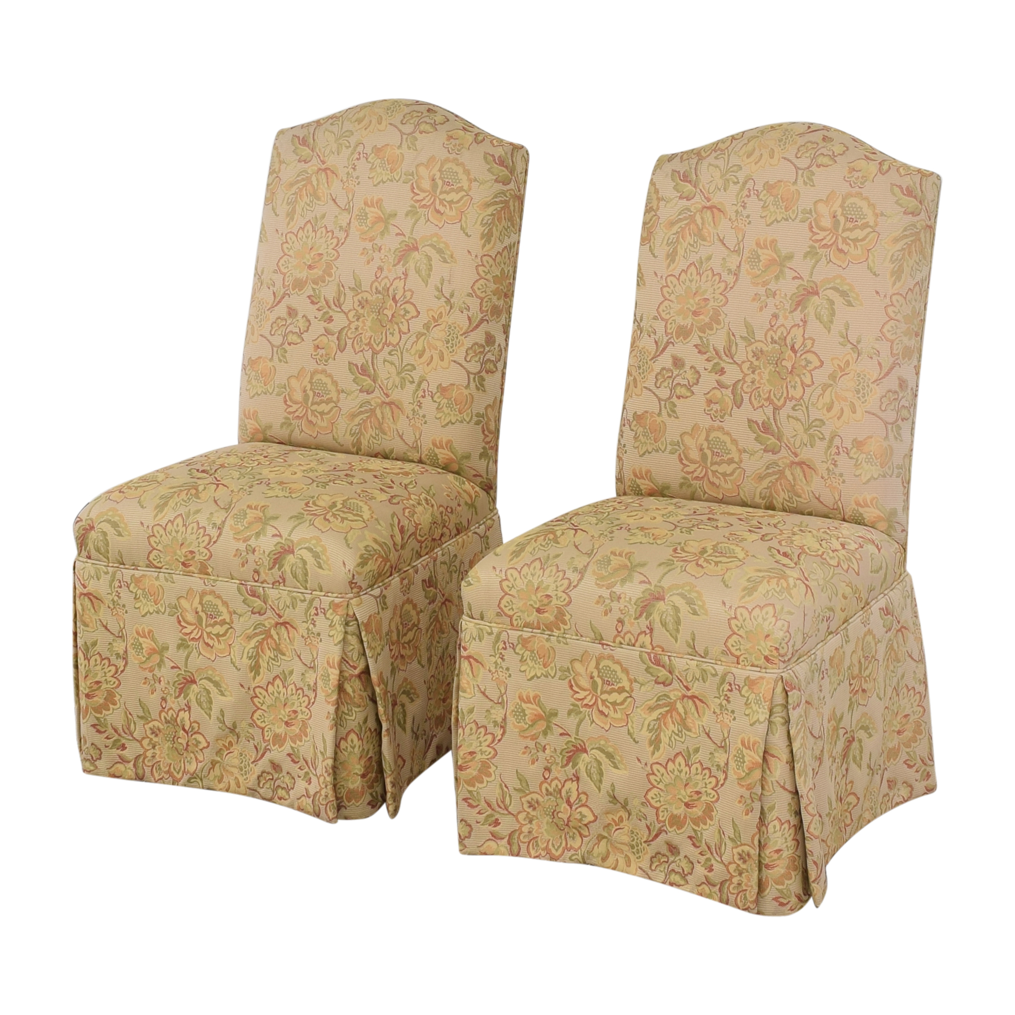 Grange Grange Skirted Dining Side Chairs for sale