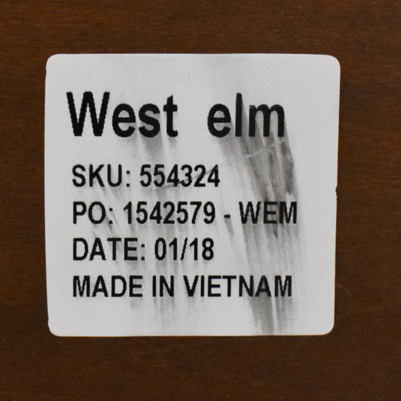 buy West Elm Mid-Century Pop-Up Storage Coffee Table West Elm