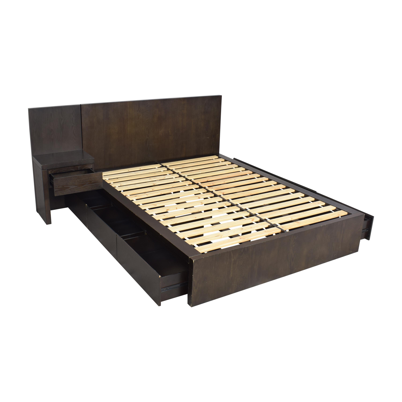 West Elm West Elm Storage Platform Queen Bed with Nightstand price