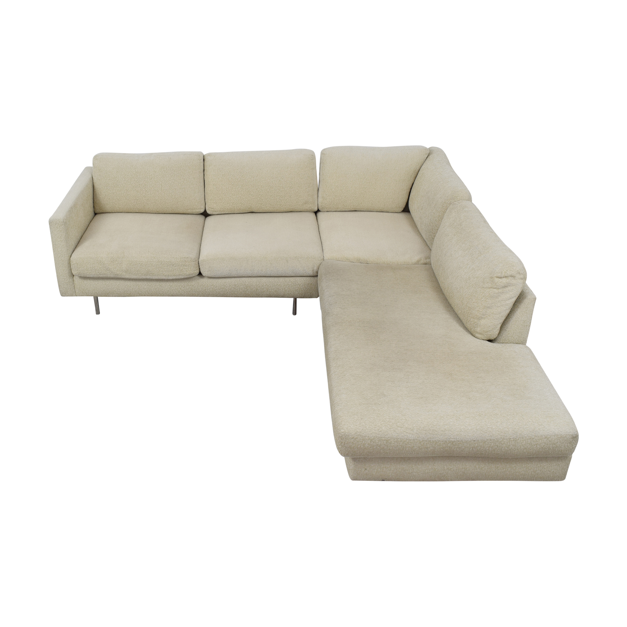 Thayer Coggin Milo Baughman Design Classic Sectional Sofa / Sofas