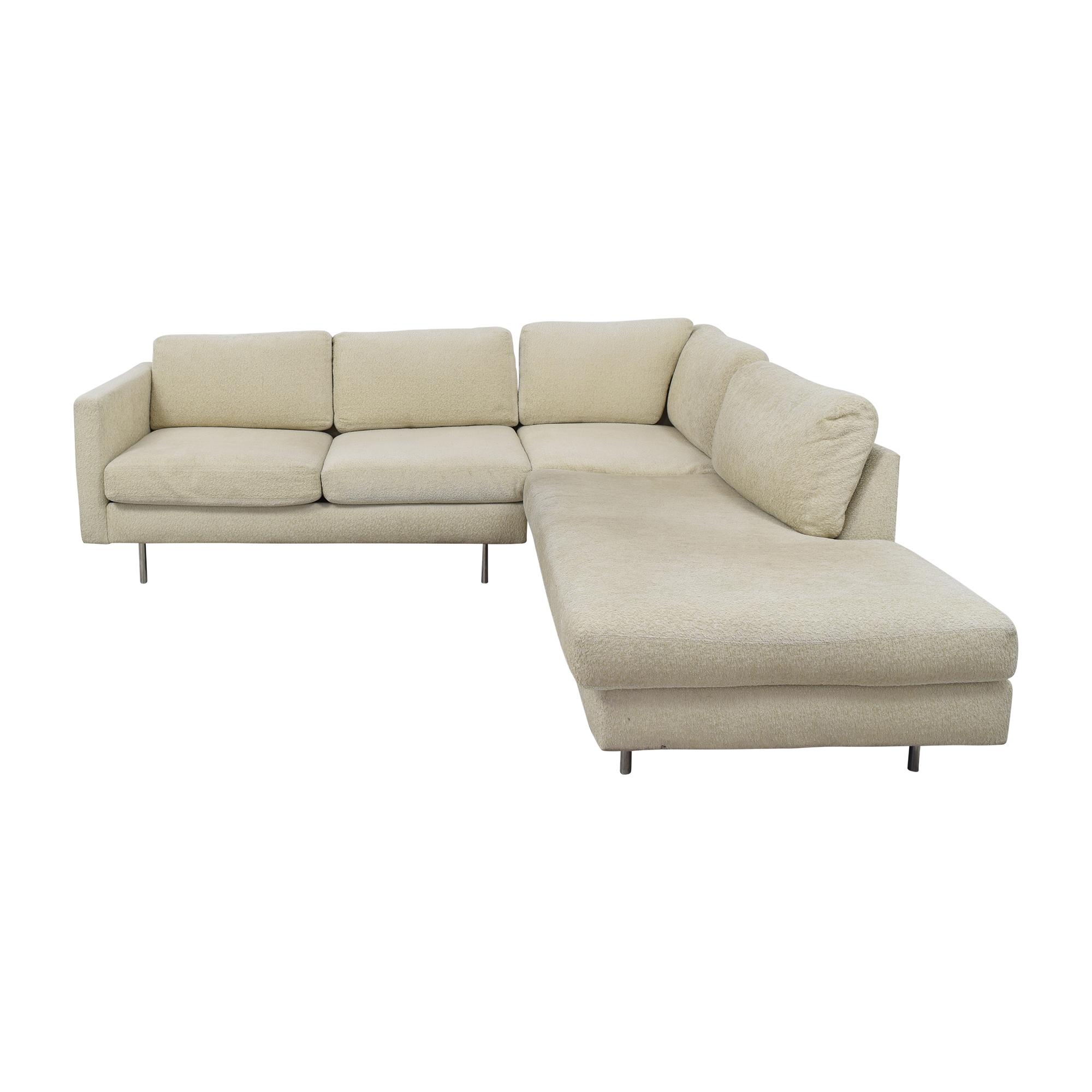 Thayer Coggin Thayer Coggin Milo Baughman Design Classic Sectional Sofa Sectionals