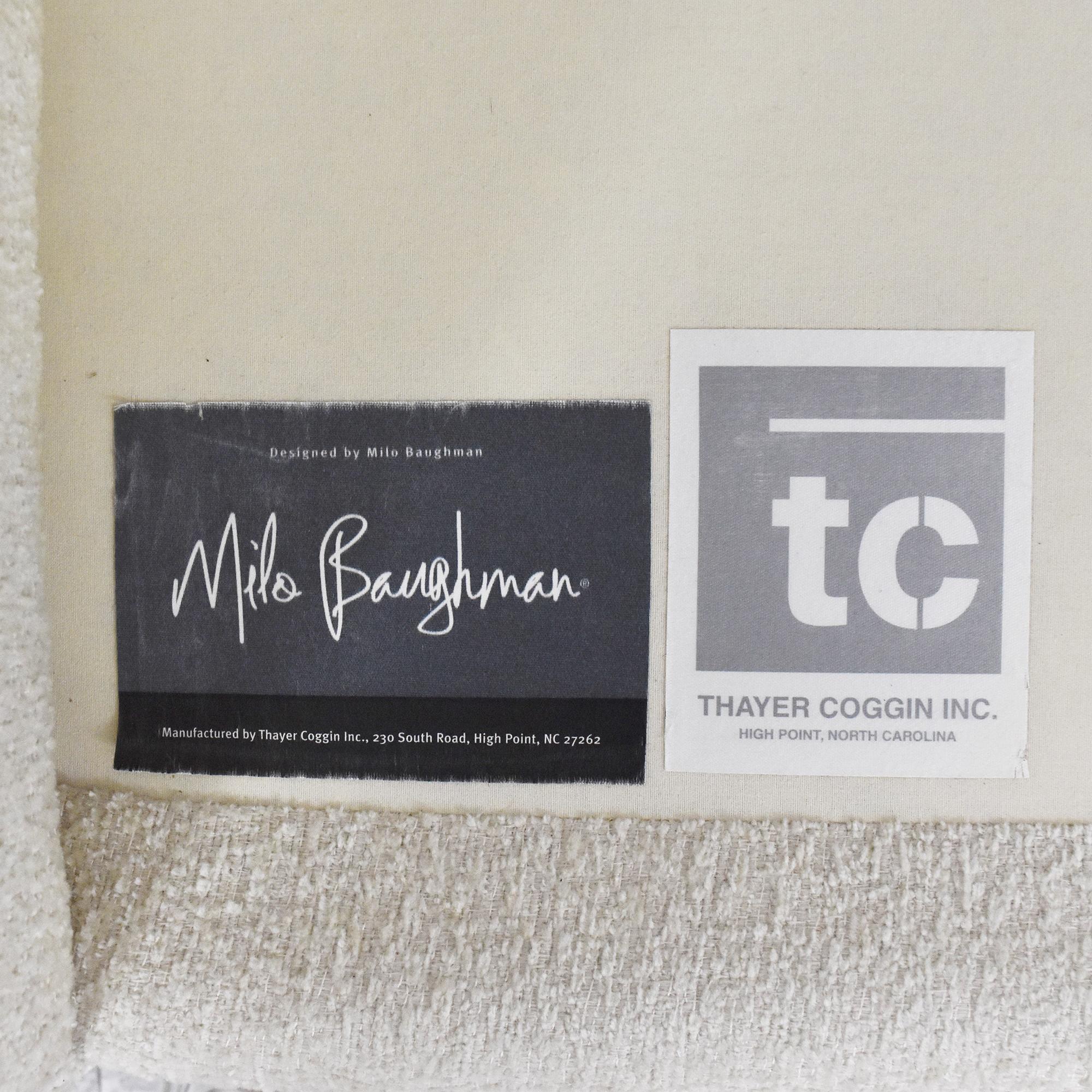 Thayer Coggin Thayer Coggin Milo Baughman Design Classic Sectional Sofa ct