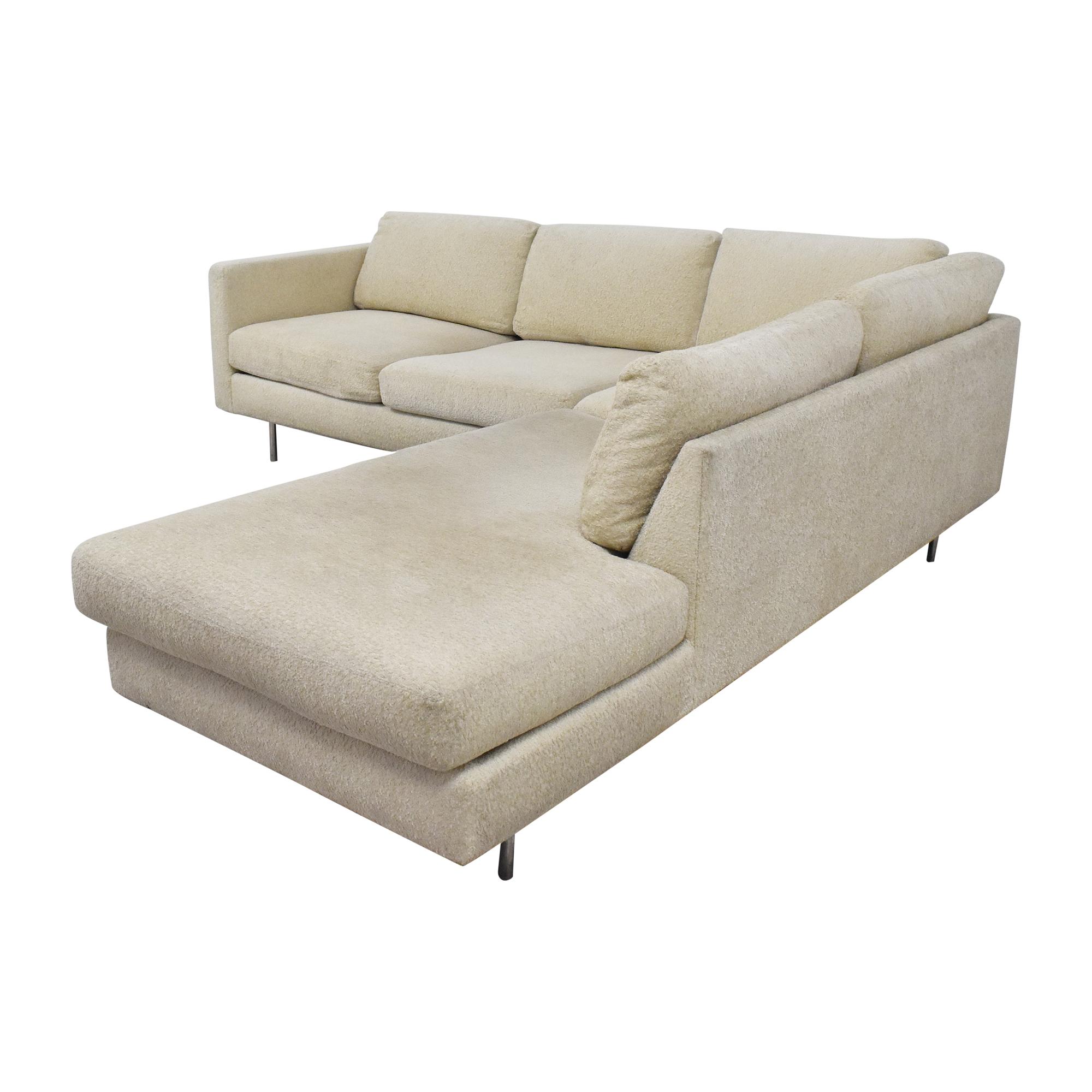 Thayer Coggin Thayer Coggin Milo Baughman Design Classic Sectional Sofa on sale