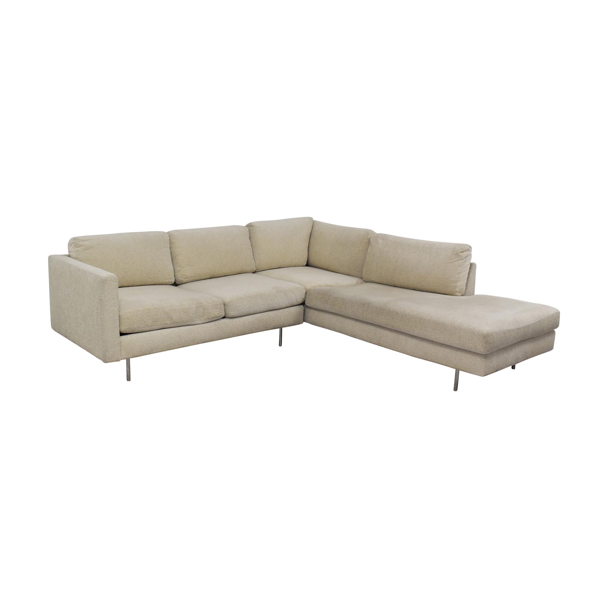 buy Thayer Coggin Milo Baughman Design Classic Sectional Sofa Thayer Coggin Sofas