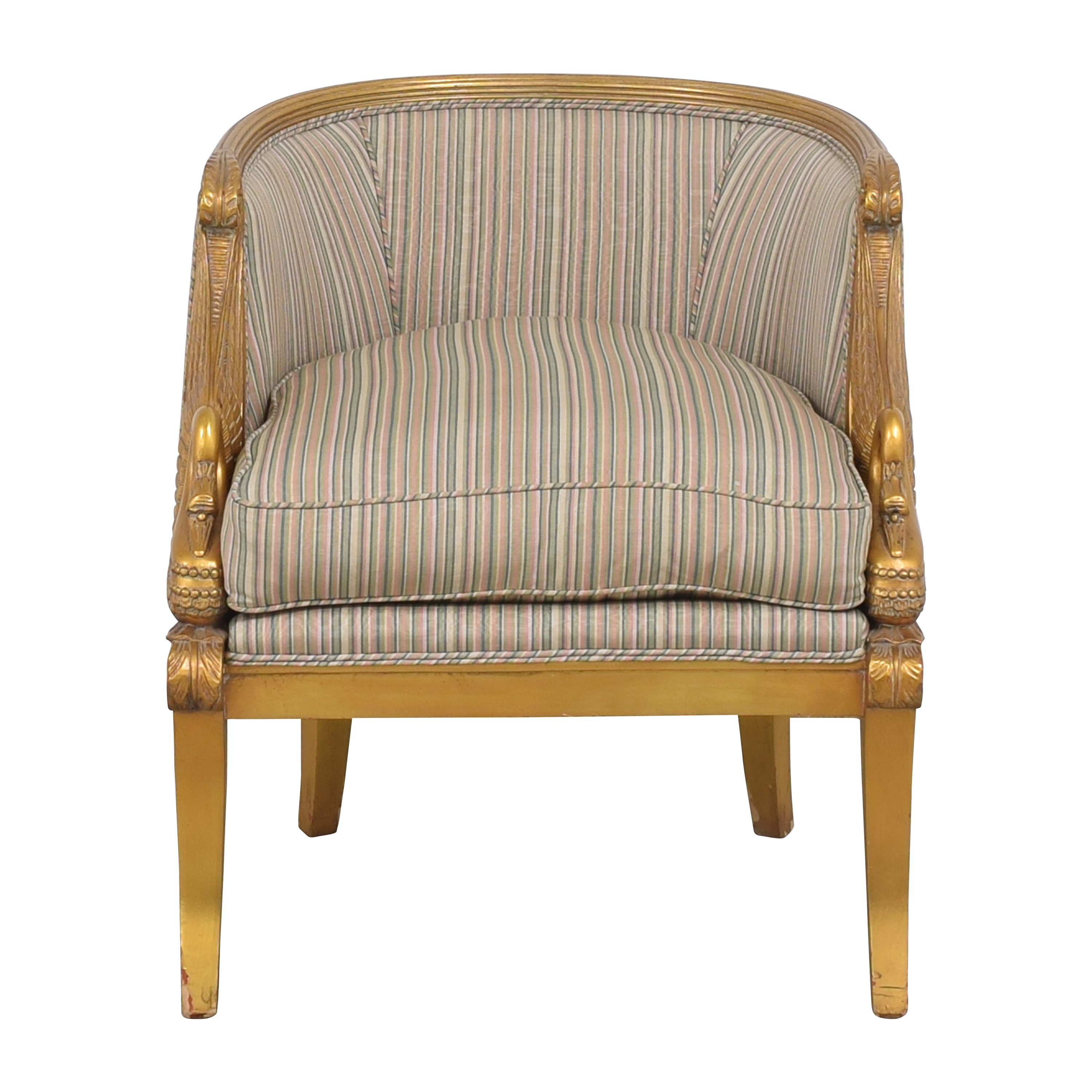 Karges Karges Empire Swan Chair for sale