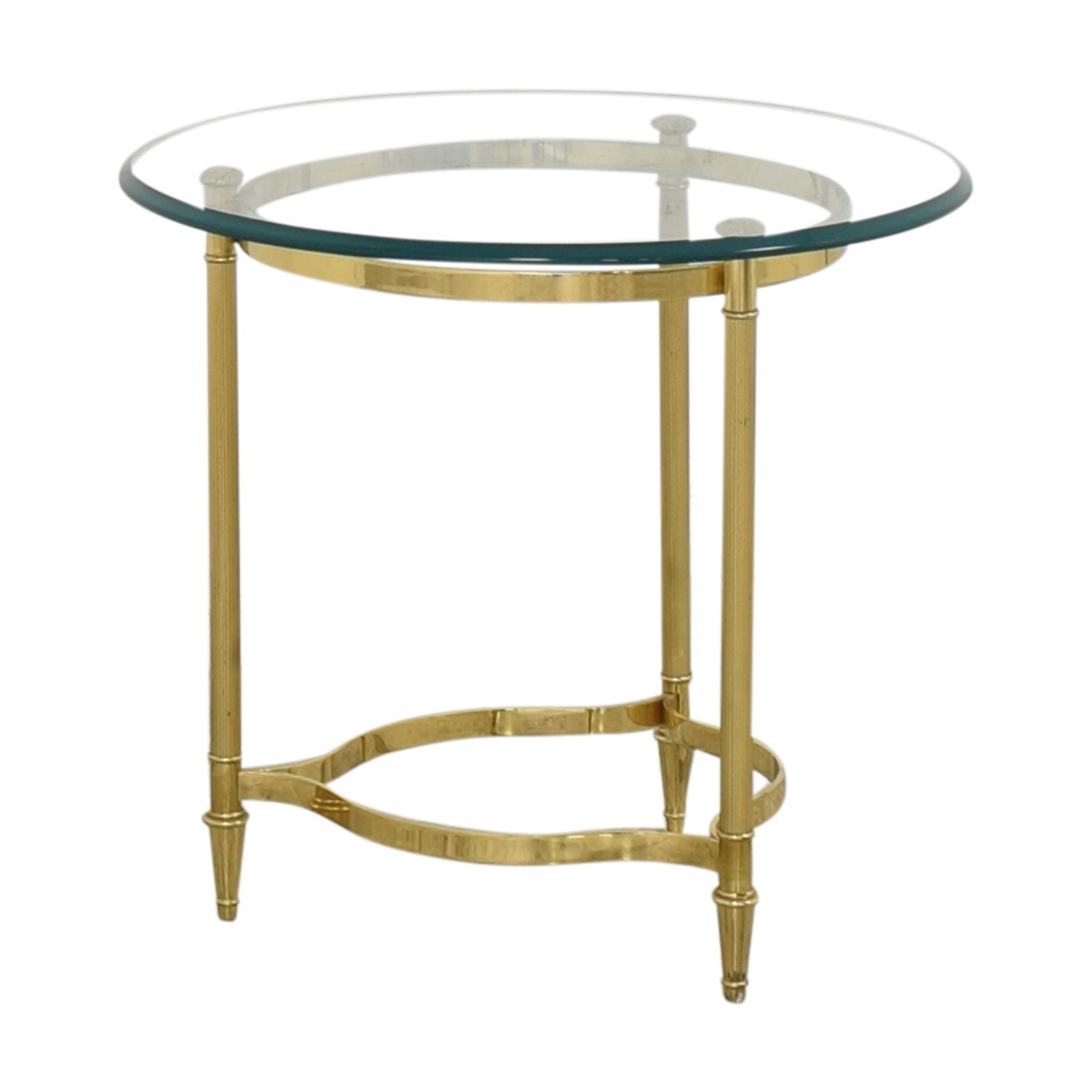 Transparent End Table discount