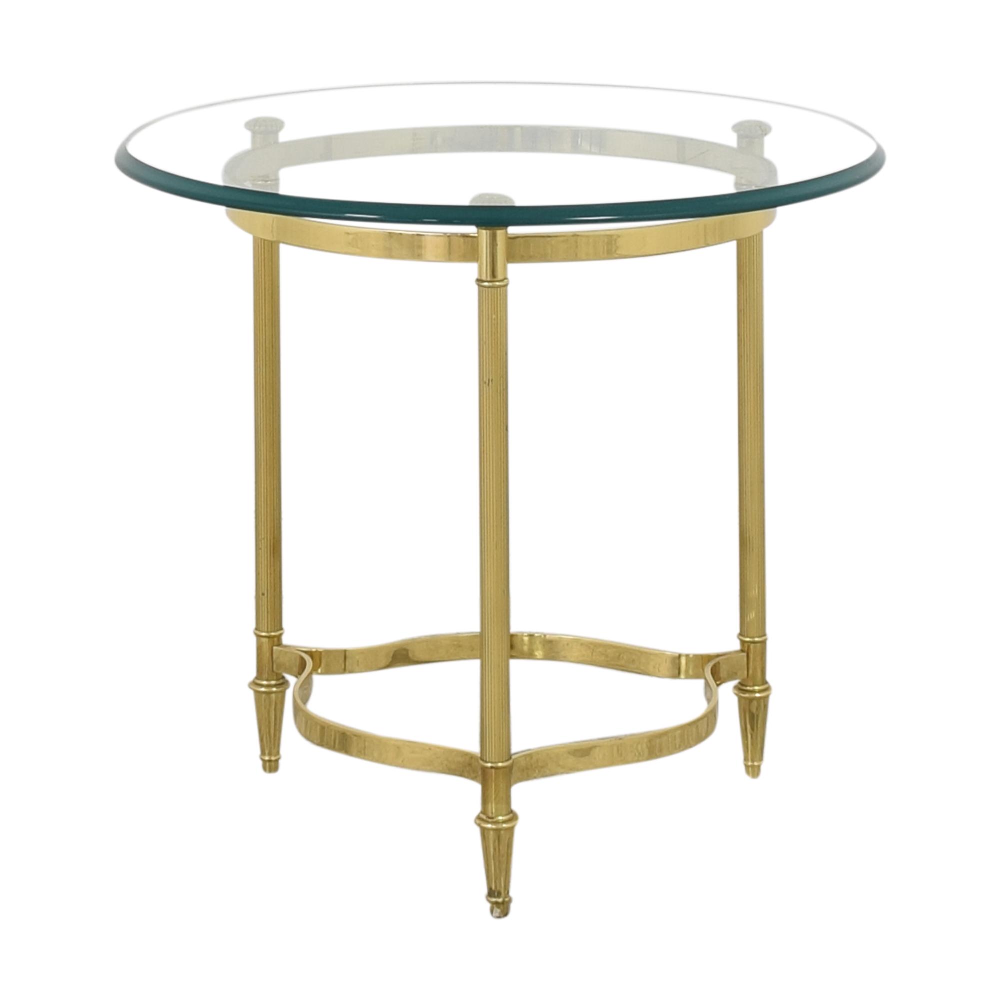 Transparent End Table Accent Tables