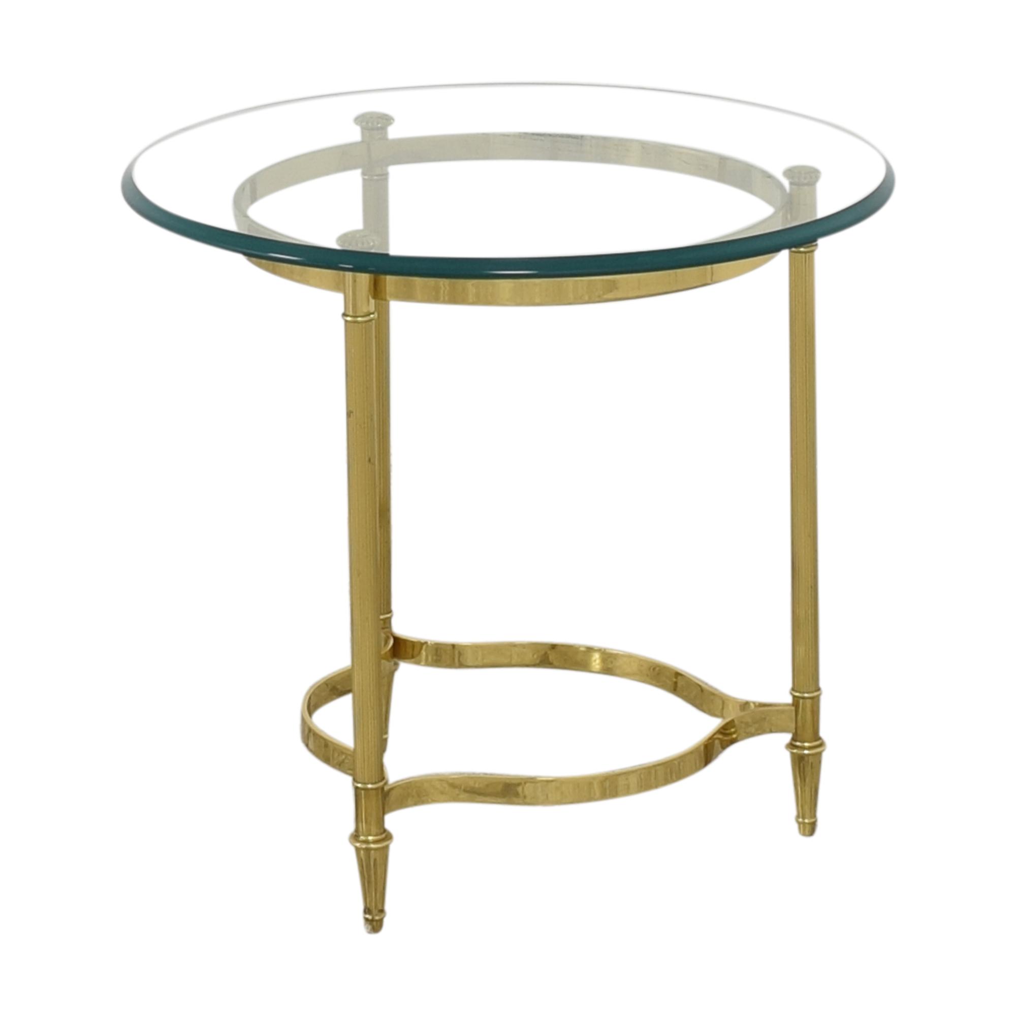 Transparent End Table / Accent Tables