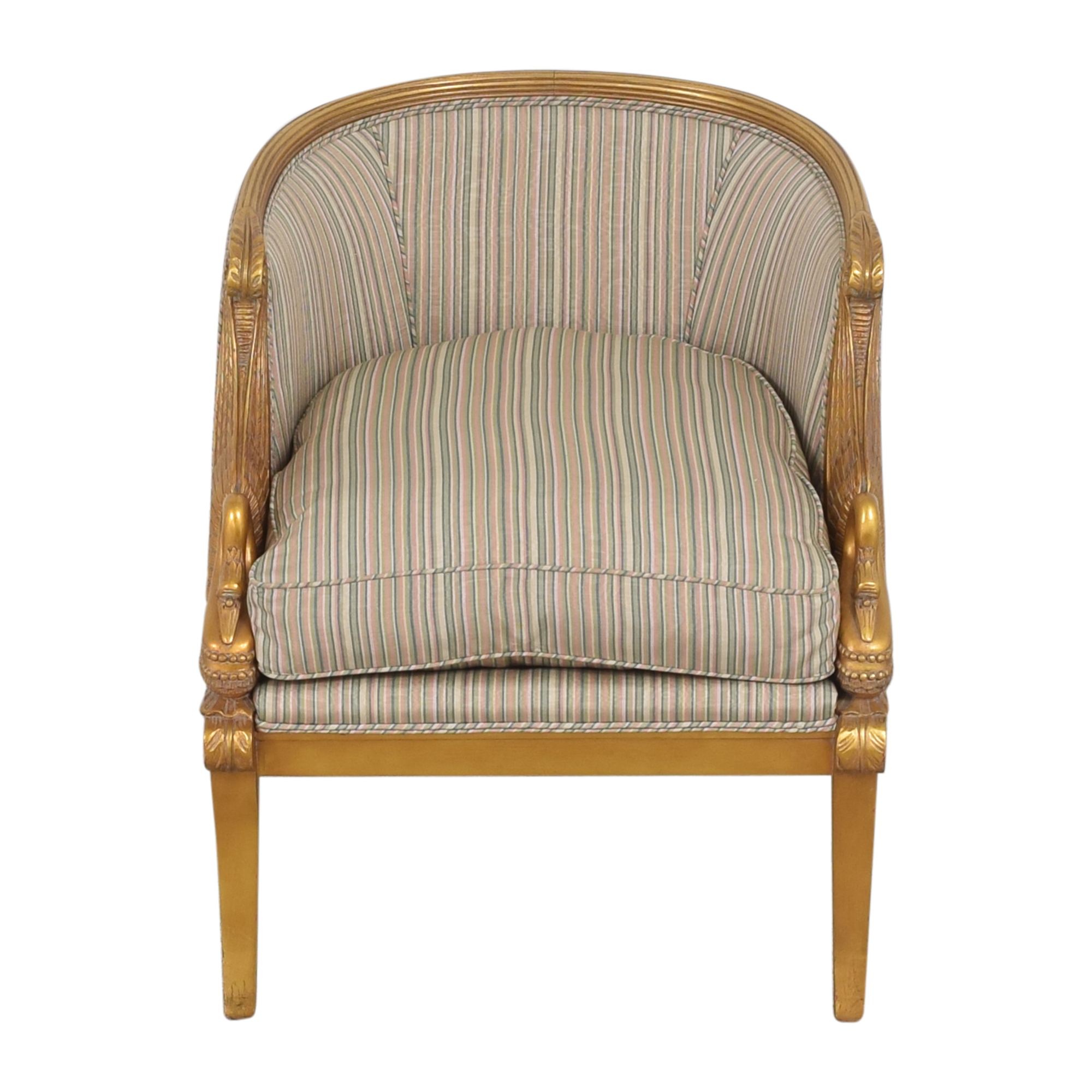 Karges Karges Empire Swan Chair Accent Chairs