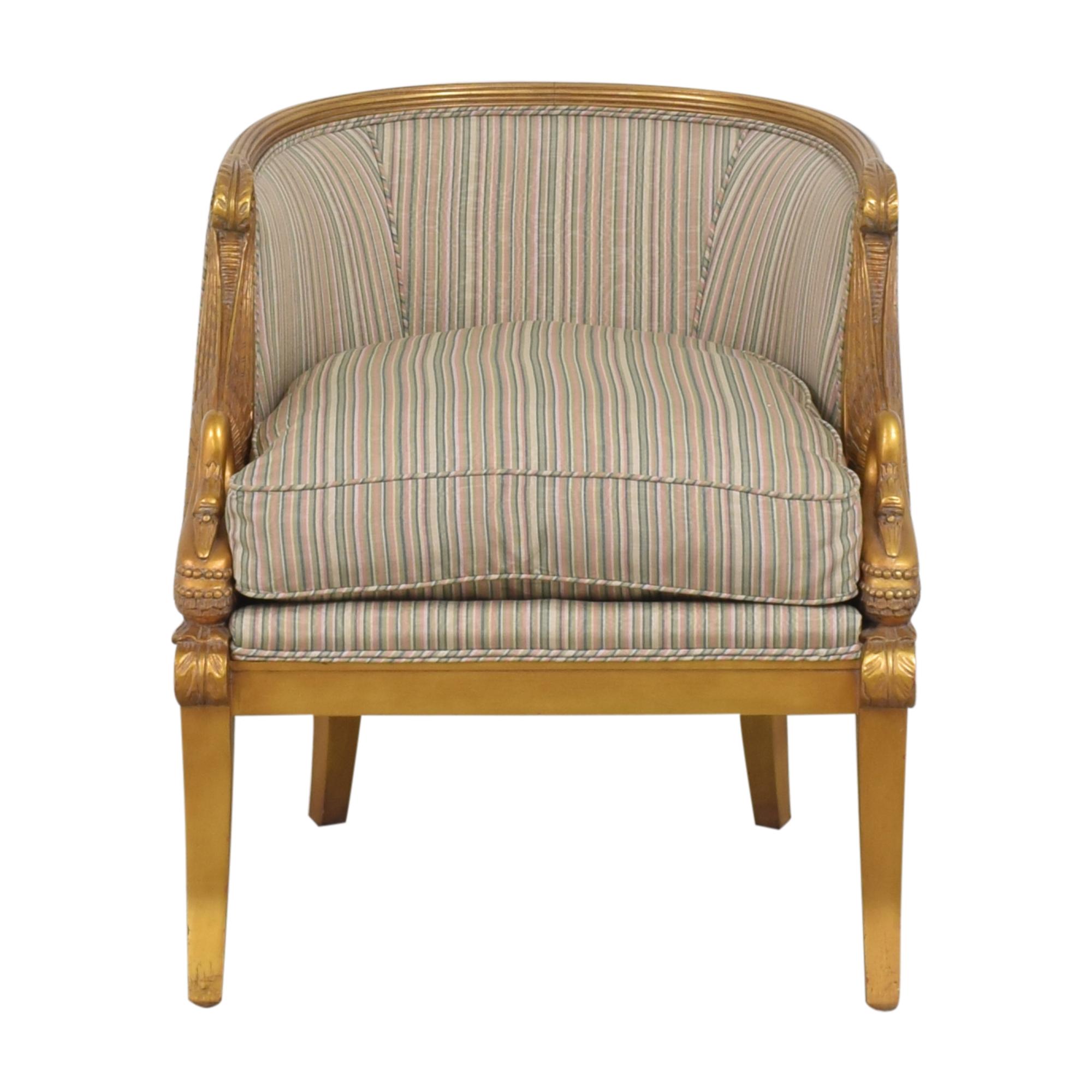 buy Karges Empire Swan Chair Karges