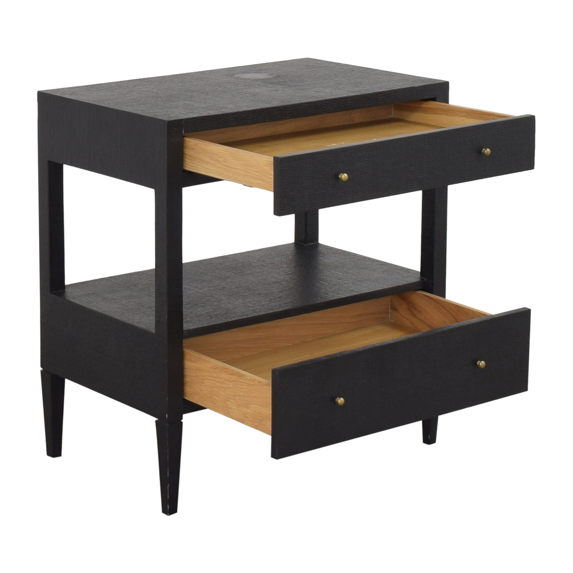 Two Drawer Nightstand ma