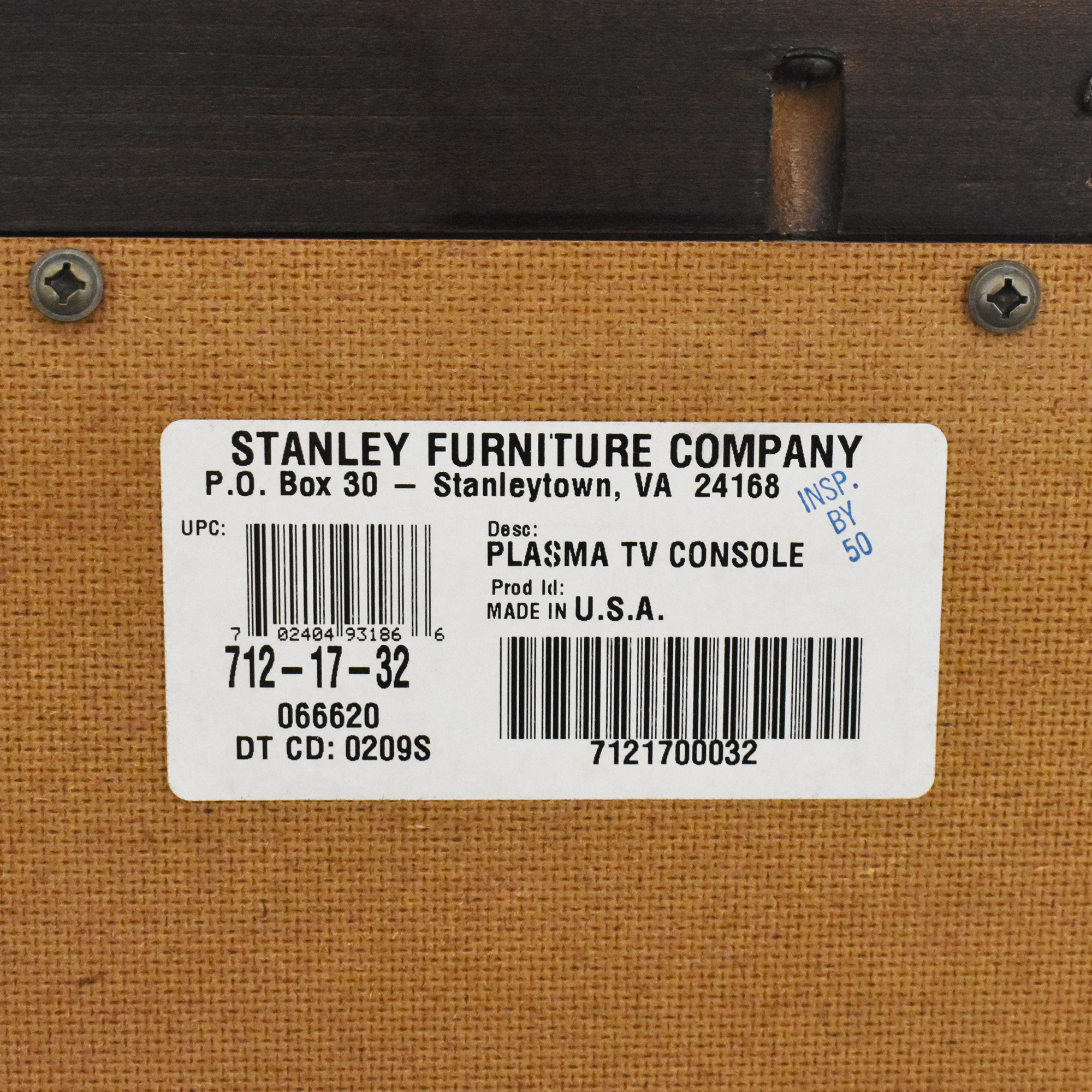 Stanley Furniture Media Console / Media Units