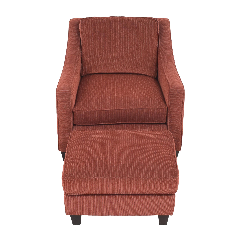 shop Bassett Furniture Bassett Furniture Corinna Accent Chair with Ottoman online
