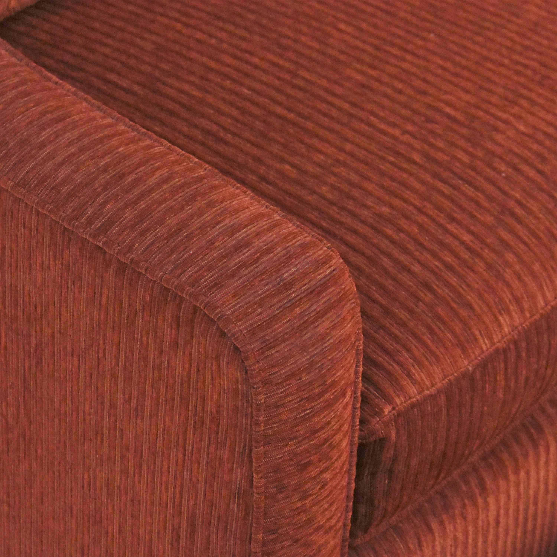 Bassett Furniture Bassett Furniture Corinna Accent Chair with Ottoman dimensions