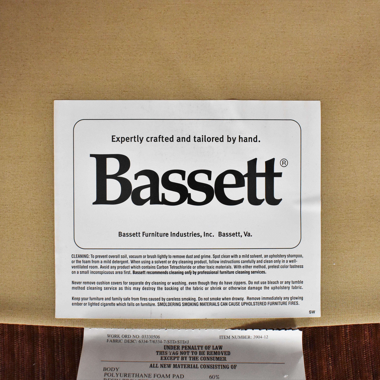 buy Bassett Furniture Corinna Accent Chair with Ottoman Bassett Furniture Accent Chairs