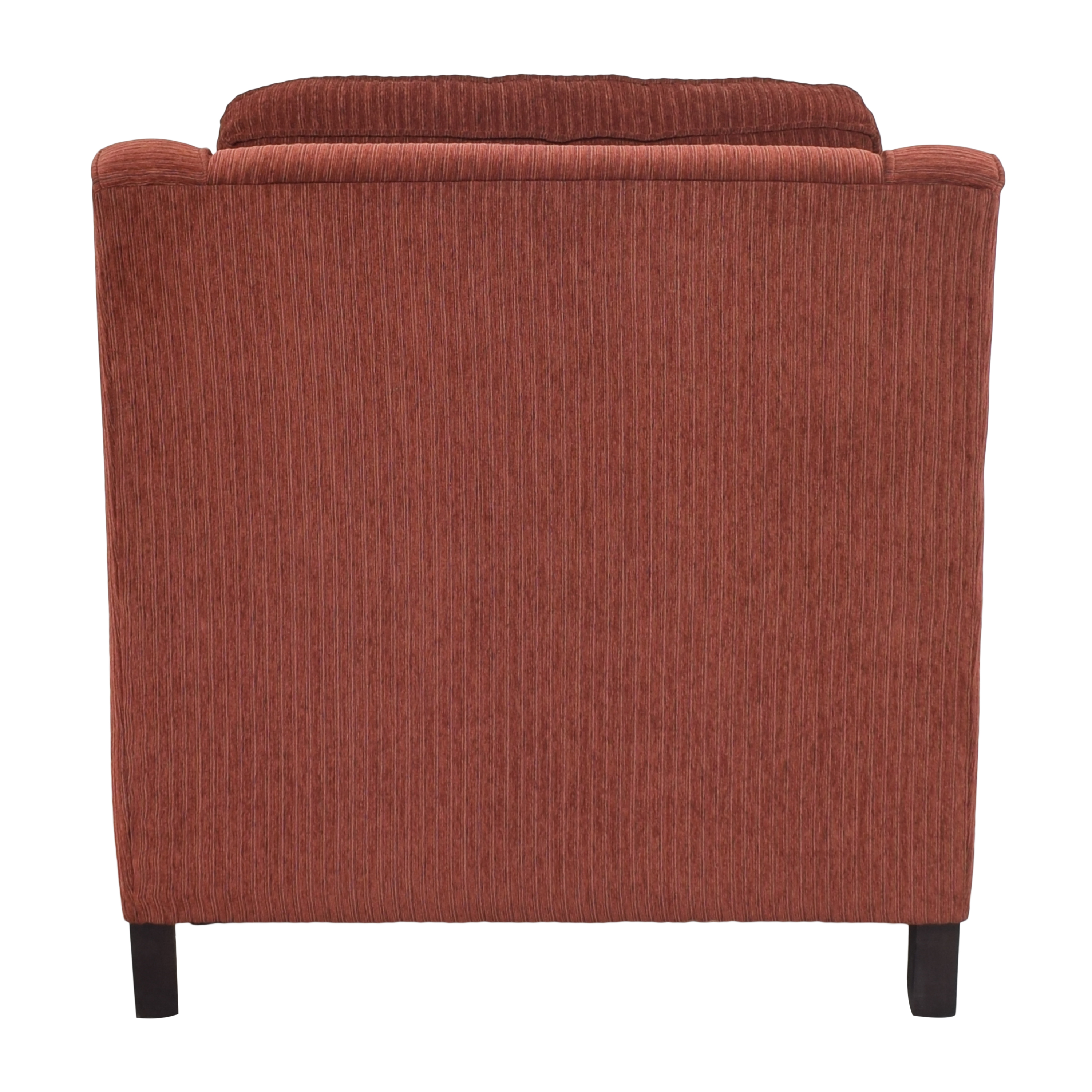 Bassett Furniture Corinna Accent Chair with Ottoman / Chairs