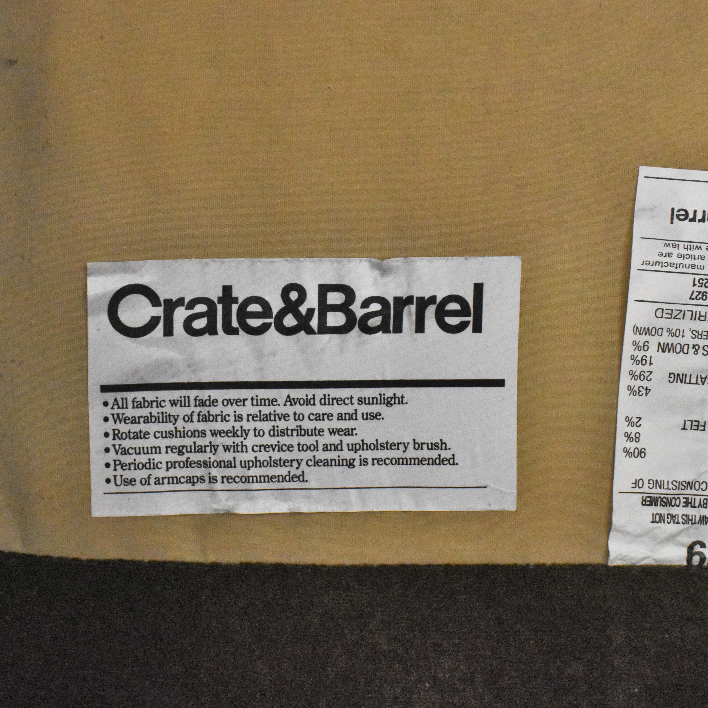 Crate & Barrel Crate & Barrel Modern Swivel Chair discount