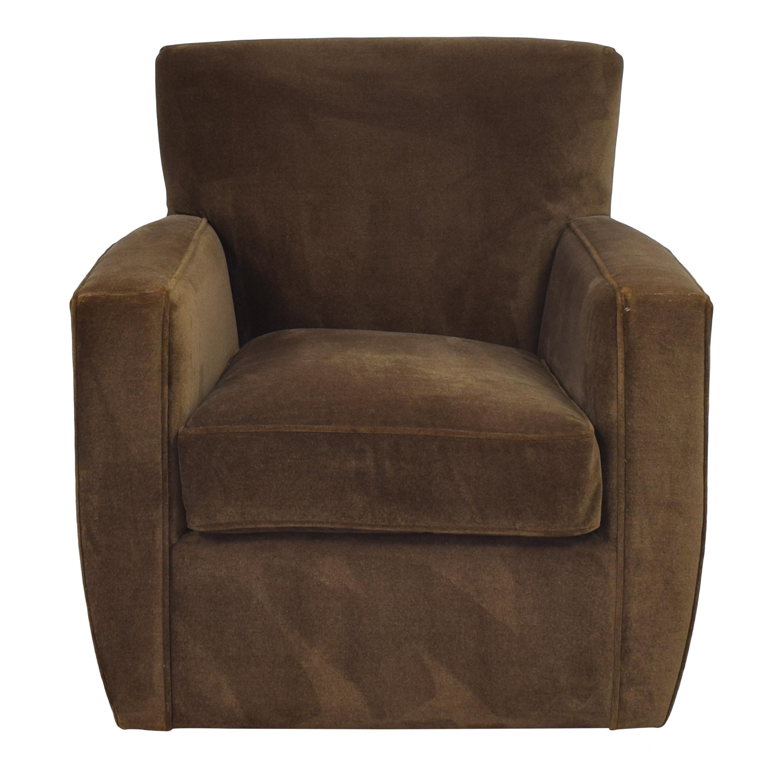 Crate & Barrel Modern Swivel Chair / Chairs