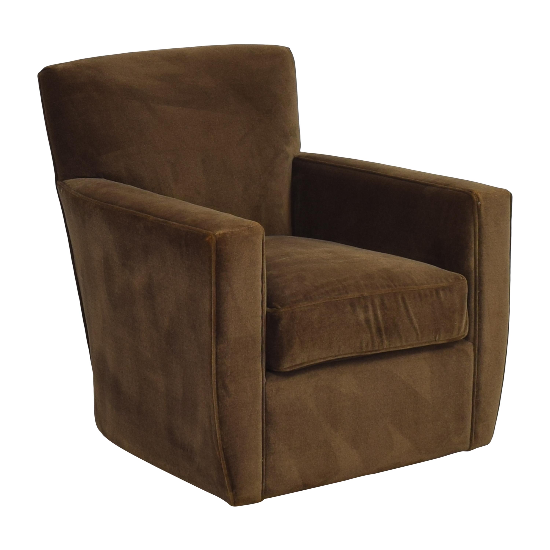 Crate & Barrel Crate & Barrel Modern Swivel Chair price