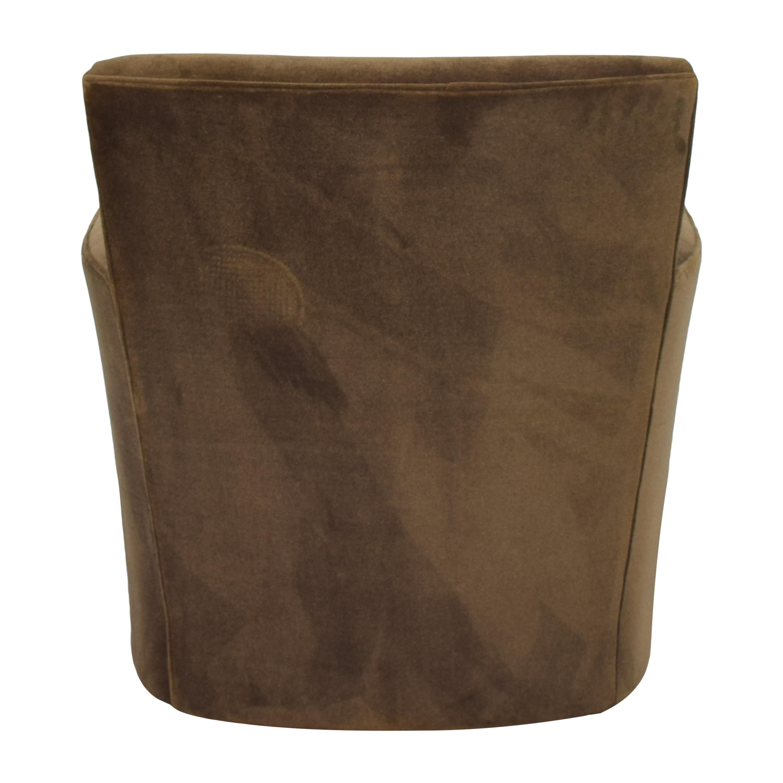 Crate & Barrel Crate & Barrel Modern Swivel Chair nj