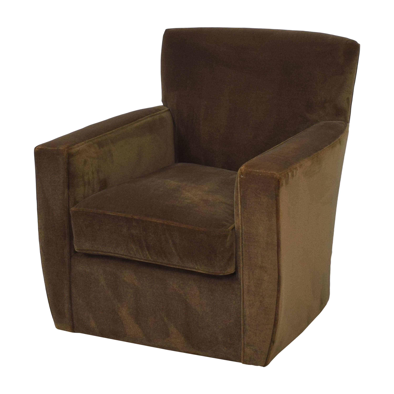 Crate & Barrel Crate & Barrel Modern Swivel Chair nyc