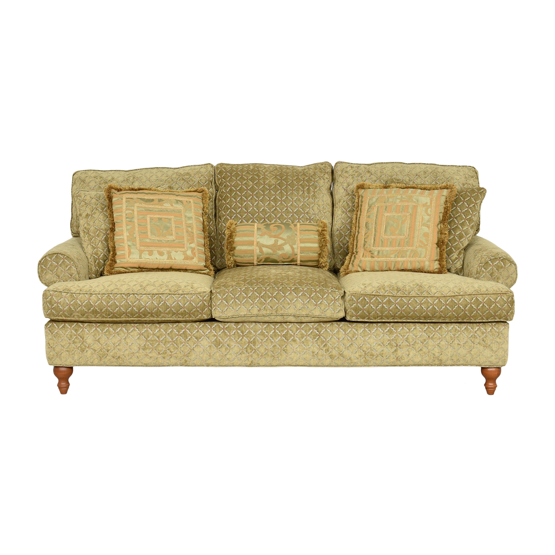 Robin Bruce Robin Bruce Three Cushion Sofa Beige