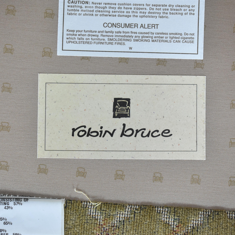 Robin Bruce Three Cushion Sofa / Sofas
