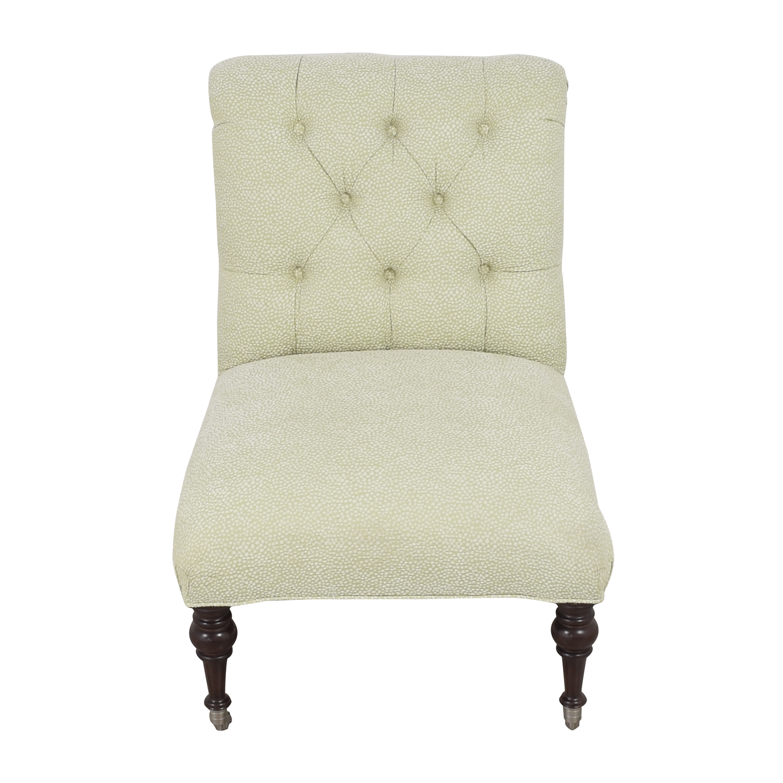 Tufted Slipper Chair / Chairs